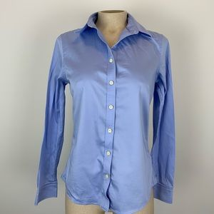 Buy 2 Get 2🎁Banana Republic Blue Fitted Blouse